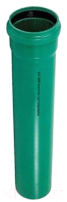 Труба наружной канализации Wavin ПП ливневая Ру 3 110x3.4x2000