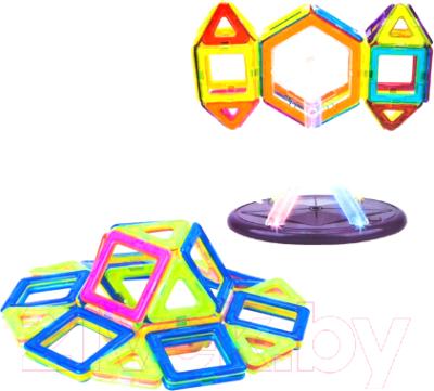 Конструктор магнитный Наша игрушка 703 конструктор shantou gepai наша игрушка 3d магнитный 52 детали 703 631105