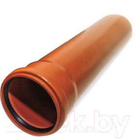 Труба наружной канализации Valrom ПВХ SN4 250х6.2х2000