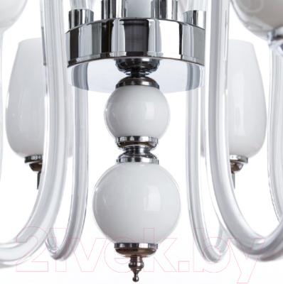 Люстра Arte Lamp Lavinia A1404LM-8WH