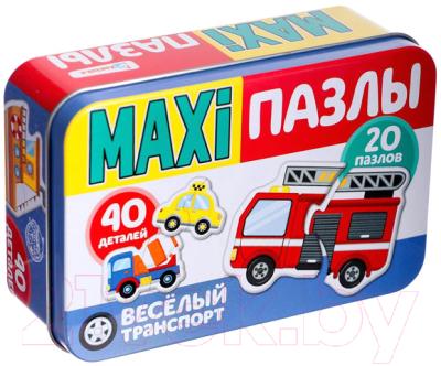 Набор пазлов Puzzle Time Веселый транспорт Макси-пазлы / 4868652