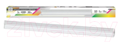 Светильник линейный LLT СПБ-Т5-eco 5Вт 6500К 230В 375лм IP40 300мм / 4690612006123