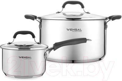 Набор кастрюль Vensal Coquet / VS1509