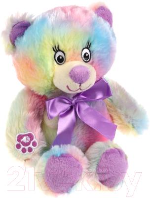 Фото - Мягкая игрушка Fluffy Family Мишка Радуга / 681842 мягкая игрушка fluffy family мишка зефирка голубая 19 см 681866