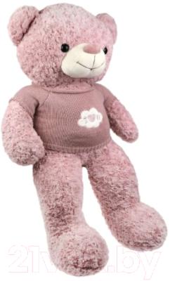 Фото - Мягкая игрушка Fluffy Family Мишка Цветочек / 681872 мягкая игрушка fluffy family мишка зефирка голубая 19 см 681866