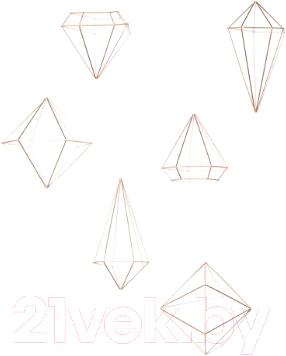 Декор настенный Umbra Prisma 470520-880 зеркало umbra prisma 56х43 в раме