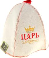 Шапка для бани Главбаня Царь, просто царь / Б411 (войлок) -