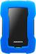 Внешний жесткий диск A-data HD330 1TB Blue Color Box (AHD330-1TU31-CBL) -