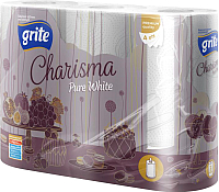 Бумажные полотенца Grite Charisma Pure White 3 -