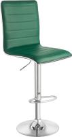 Стул барный Mio Tesoro Нарни BS-016 (изумрудно-зеленый/хром) -
