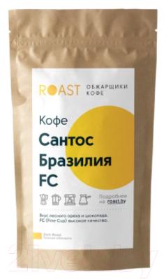 Кофе в зернах Roast Бразилия Сантос FC