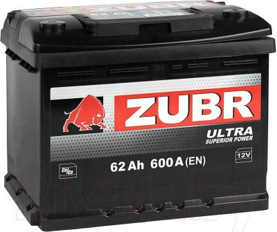 Автомобильный аккумулятор Zubr Ultra L+