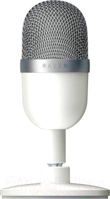 Микрофон Razer Seiren Mini Mercury / RZ19-03450300-R3M1 микрофон razer seiren x черный [rz19 02290100 r3m1]