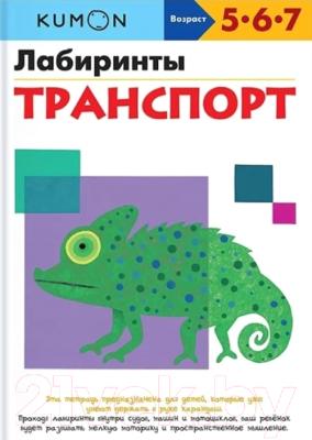 Развивающая книга МИФ Лабиринты. Транспорт