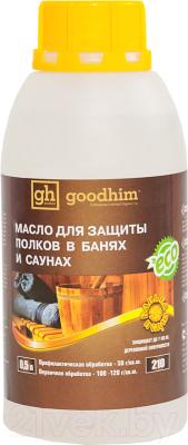 Масло для древесины GoodHim Для полков в бане и сауне 210 / 49594