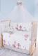 Комплект постельный в кроватку Баю-Бай Раздолье / К120-Р1 (розовый) -