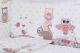 Комплект постельный в кроватку Баю-Бай Раздолье К90-Р1 (розовый) -
