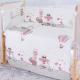Комплект постельный в кроватку Баю-Бай Раздолье К70-Р1 (розовый) -