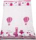Комплект постельный детский Баю-Бай Раздолье / К20-Р1 (розовый) -