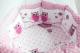 Комплект постельный в кроватку Баю-Бай Раздолье / К91-Р1 (розовый) -