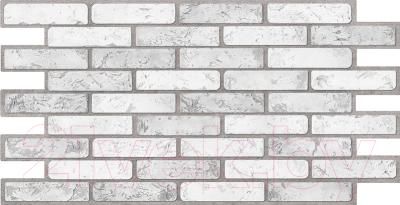 Панель ПВХ листовая, 5 шт. Grace Кирпич светлый