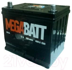 Автомобильный аккумулятор Mega Batt JIS L+ 480A / 6СТ-60N
