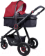Детская универсальная коляска Lorelli Alexa Black and Red / 10021261800 -
