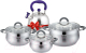 Набор кухонной посуды Lara LR02-92 Bell Promo -