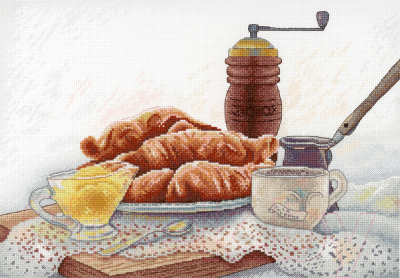 Набор для вышивания М.П.Студия Французский завтрак / НВ-655М недорого