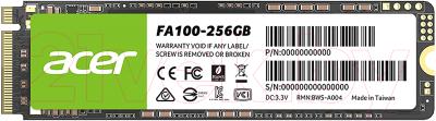 SSD диск Acer FA100 256GB / BL.9BWWA.118