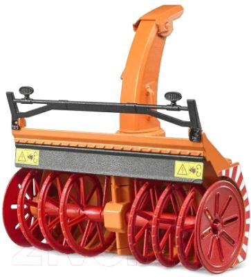 Прицеп игрушечный Bruder Снегоочиститель / 02349