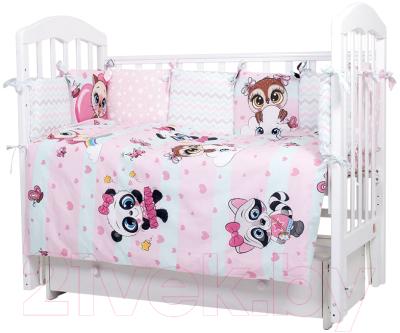 Комплект постельный в кроватку Топотушки Мечты принцессы / 608/2