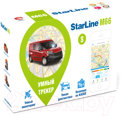 GPS трекер StarLine M66-S