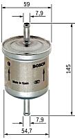 Топливный фильтр Bosch 0450905976 -
