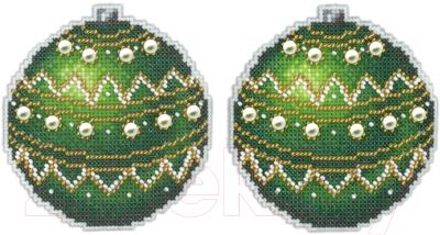 Набор для вышивания М.П.Студия Морозный изумруд / Р-165М