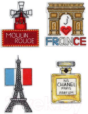 Набор для вышивания М.П.Студия Франция. Магниты / Р-306М