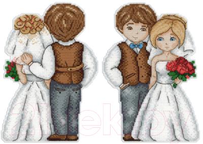 Набор для вышивания М.П.Студия Жених и невеста / Р-276М