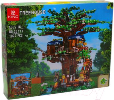 Конструктор King Mycrafts Майнкрафт Маленький домик на дереве / 33111