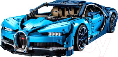 Конструктор King Technic Автомобиль Бугатти Шерон синий / X19002