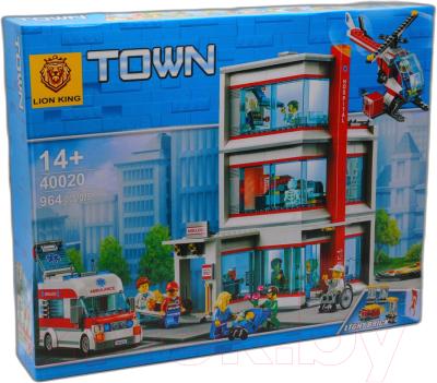 Конструктор Lion King City Городская больница / 40020