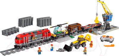 Конструктор управляемый Lion King Technic Мощный грузовой поезд / 40022