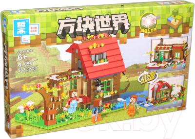 Конструктор Zhe Gao Mycrafts Дом на Лесной поляне / QL0561