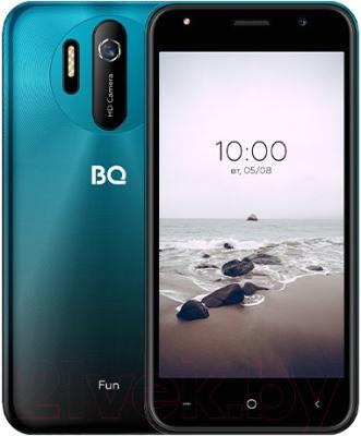 Смартфон BQ Fun BQ-5031G (Sea Wave Blue)