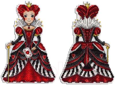 Набор для вышивания М.П.Студия Красная королева / Р-401М