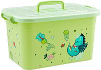 Ящик для хранения Полимербыт Радуга 81001 (зеленый) -