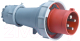 Вилка силовая ETP 035 3Р+РЕ+N 63А 380В IP67 -