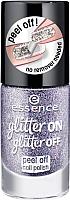 Лак для ногтей Essence Glitter On Glitter Off Peel Off Nail Polish тон 05 (8мл) -