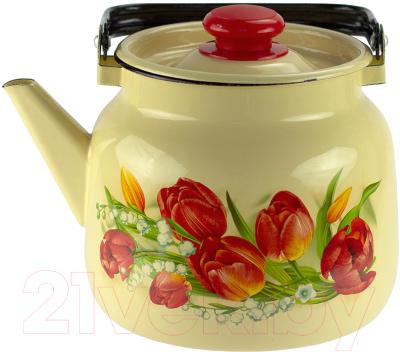 Чайник Лысьвенские эмали Ласковый май С-2713П2/4Км