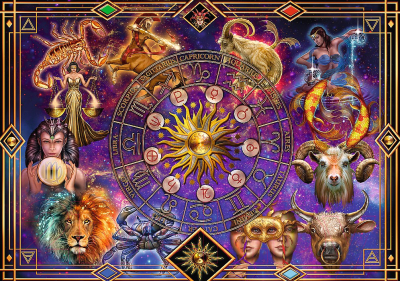 Пазл Trefl Spiral Puzzle Знаки зодиака / 40015