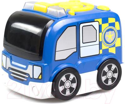Игрушка на пульте управления Silverlit Полицейская машина Tooko / 81471 игрушка попрыгун altacto полицейская машина белый